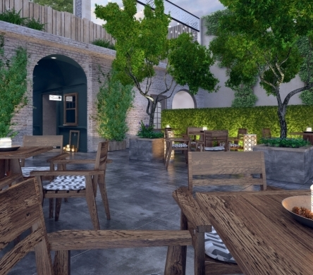 Thiết kế nhà hàng, khách sạn, quán cafe