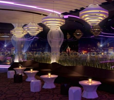 Mẫu thiết kế nội thất cafe sân thượng