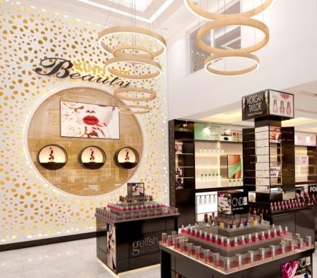 Thiết kế showroom nail - Vĩnh Trí