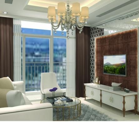 Thiết kế nội thất căn hộ Vinhomes theo phong cách bán cổ điển