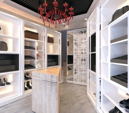 Thiết kế nội thất Shop thời trang theo phong cách hiện đại