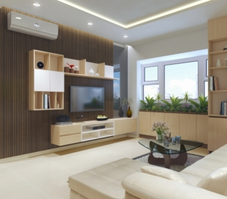 Thiết kế nội thất căn hộ hiện đại tối ưu hóa diện tích