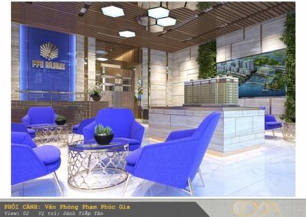 Thiết kế nội thất văn phòng cao cấp Phạm Phúc Gia
