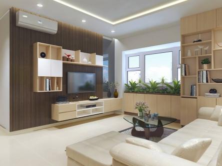 Thiết kế nội thất căn hộ mang phong cách hiện đại
