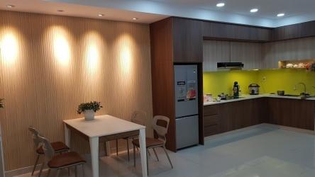 Thi công nội thất căn hộ chung cư hiện đại - Căn hộ Oriental Plaza Âu Cơ
