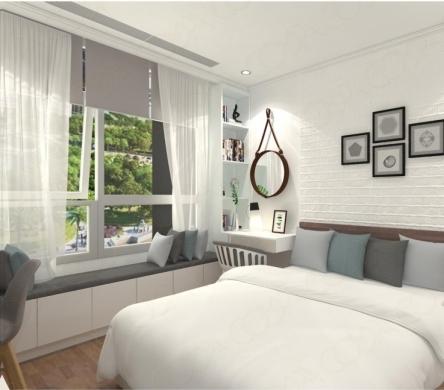 Ý tưởng thiết kế chỗ ngồi bên cửa sổ cho không gian thêm phần lãng mạn