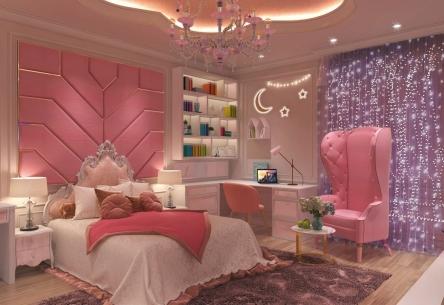 Trang trí Nhà cực cute dành cho những cô nàng yêu màu hồng